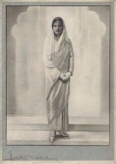 Maharaj Kumari Sudharani Devi of Burdwan, by Dorothy Wilding - NPG x135566