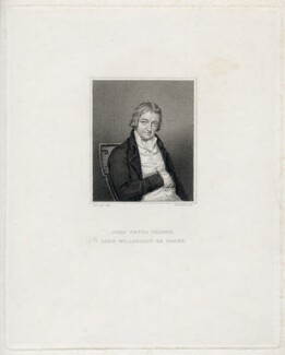 John Peyto Verney, 14th Baron Willoughby de Broke, by Charles Theodosius Heath, after  Bell - NPG D42259