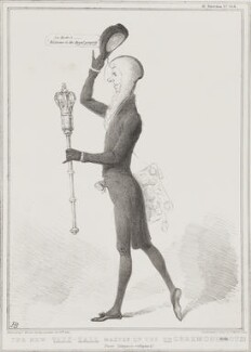 Henry Brougham, 1st Baron Brougham and Vaux ('The New Vaux-Hall Master of the Unceremonious'), by John ('HB') Doyle, printed by  Ducôte & Stephens, published by  Thomas McLean - NPG D41292