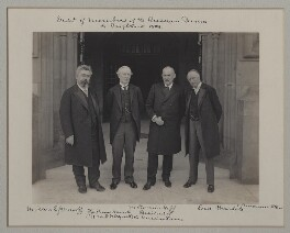 'Visit of Members of the Russian Duma to England, 1909', by Benjamin Stone - NPG x135577