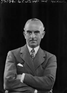 Sir Harold Alfred MacMichael, by Bassano Ltd - NPG x179483