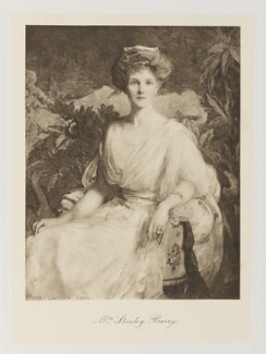 Hannah Mary Barry (née Hainsworth), by Bassano Ltd - NPG Ax161338