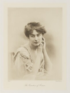 Margaret Etienne Hannah ('Peggy') Crewe-Milnes (née Primrose), Marchioness of Crewe, by Lallie Charles - NPG Ax161340