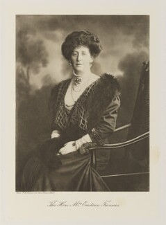 Florence Agnes (née Rathfelder), Lady Twisleton-Wykeham-Fiennes, by Frank Arthur Swaine - NPG Ax161349