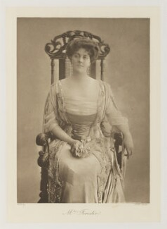Aline Laura Forester (née Milbank), by Lallie Charles (née Charlotte Elizabeth Martin), published 1909 - NPG Ax161350 - © National Portrait Gallery, London