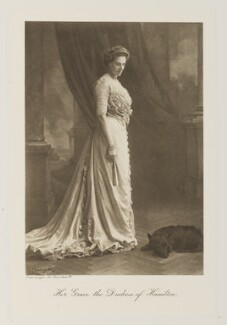 Nina Mary Benita Douglas-Hamilton (née Poore), Duchess of Hamilton, by Speaight Ltd, published 1909 - NPG Ax161351 - © National Portrait Gallery, London