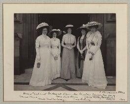 'New Zealand Ladies at Henniker Heaton's Terrace Tea-party', by Benjamin Stone - NPG x135591