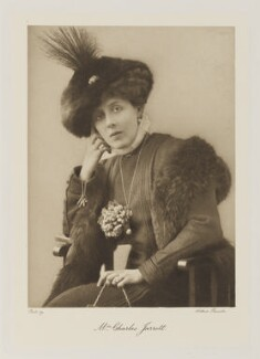Violet Aline St Clair-Erskine (née Vyner), Countess of Rosslyn (later Mrs Jarrott), by Arthur Rouselle - NPG Ax161360