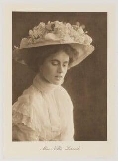 Isabel Nellie Larnach-Nevill (née Larnach), Marchioness of Abergavenny, by Bassano Ltd - NPG Ax161362