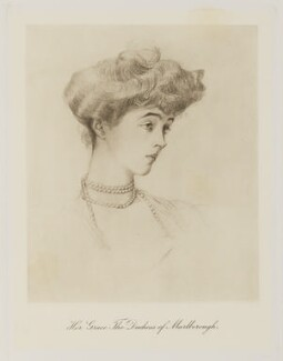 Consuelo (née Vanderbilt), Duchess of Marlborough (later Mrs Balsan), published by Bassano Ltd, published 1909 - NPG Ax161364 - © National Portrait Gallery, London