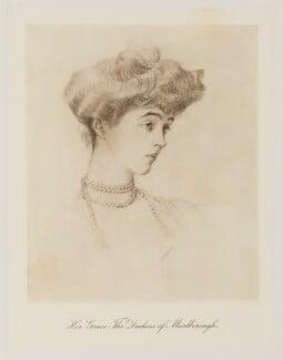 Consuelo (née Vanderbilt), Duchess of Marlborough (later Mrs Balsan), published by Bassano Ltd, published 1909 - NPG Ax161364 - © National Portrait Gallery, London