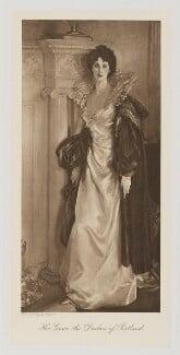 Winifred Anna (née Dallas-Yorke), Duchess of Portland, by Bassano Ltd, after  John Singer Sargent - NPG Ax161373