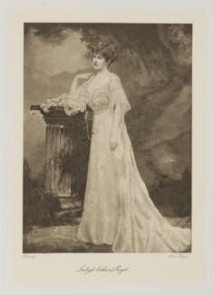 Mary ('Minnie', née Stevens), Lady Paget, by Alice Hughes - NPG Ax161375