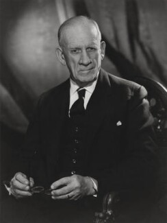 Sir Robert Robinson, by Walter Bird, 12 February 1963 - NPG x167168 - © National Portrait Gallery, London