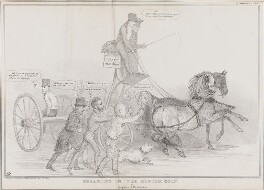 Breaking in the Reform Colt, by John ('HB') Doyle, printed by  Ducôte & Stephens, published by  Thomas McLean - NPG D41299