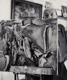 Noël Coward, possibly by Derek Hill - NPG x135614