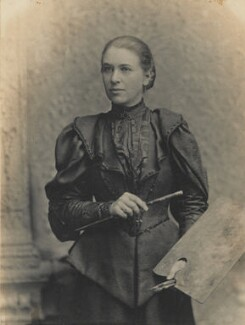 Mary Lowndes, by Arthur James Langton - NPG P1688