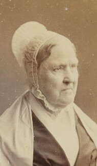 Mary Tatum Whitall in Quaker dress, by Unknown photographer - NPG Ax160494