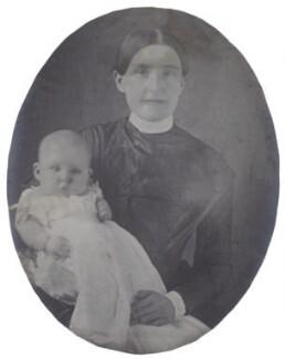 Guglielma ('Nellie') Pearsall Smith; Hannah Tatum Smith (née Whitall), by Unknown photographer - NPG Ax160497