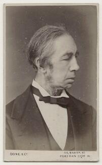 Sir George Alexander MacFarren, by John Done & Co - NPG x135620