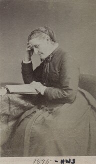 Hannah Smith (née Whitall) (Mrs Pearsall Smith), by Unknown photographer - NPG Ax160499