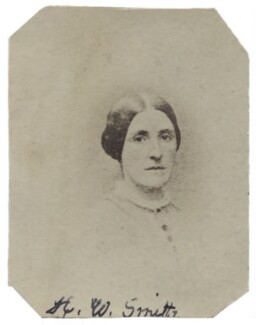 Hannah Tatum Smith (née Whitall), by Unknown photographer - NPG Ax160503