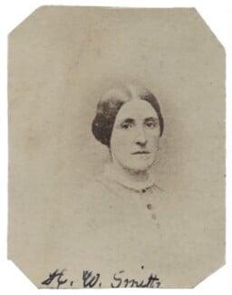 Hannah Tatum Smith (née Whitall), by Unknown photographer - NPG Ax160503