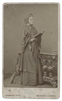 Hannah Smith (née Whitall) (Mrs Pearsall Smith), by Lombardi & Co - NPG Ax160500