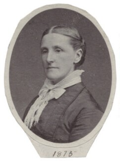 Hannah Smith (née Whitall) (Mrs Pearsall Smith), by Unknown photographer - NPG Ax160504