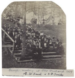'Camp meeting at Old Orchard', by Unknown photographer - NPG Ax160508