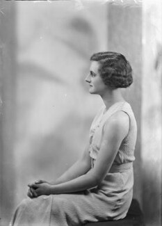 Rosemary Acton (née Charlton), by Bassano Ltd - NPG x179842
