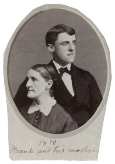 Hannah Tatum Smith (née Whitall); Frank Whitall Smith, by Unknown photographer - NPG Ax160513