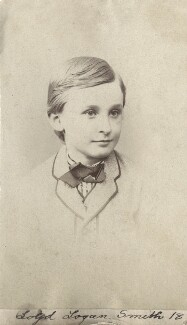 (Lloyd) Logan Pearsall Smith, by Unknown photographer - NPG Ax160532