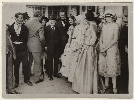 'Thomas Hardy sees flying matinee of 'The Mayor of Casterbridge' at Weymouth', by Central News Ltd - NPG x135628