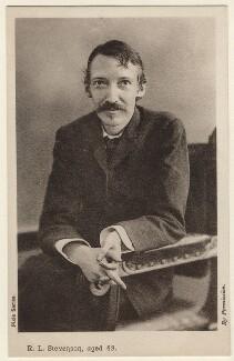 Robert Louis Stevenson, by H. Walter Barnett - NPG x135632