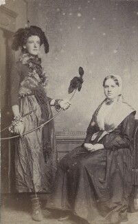 Alys Whitall Russell (née Pearsall Smith); Jennie Jones, by Unknown photographer - NPG Ax160540