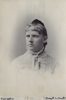 Mary B.L. Smith, by Unknown photographer - NPG Ax160543