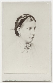 Florence Barbara Maria (née von Sass), Lady Baker, by London Stereoscopic & Photographic Company - NPG x135646