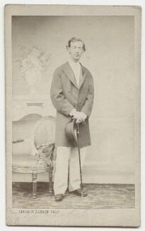 Nicholas Alexandrovich, Tsarevich of Russia, by Georg Emil Hansen - NPG x135647