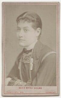 Myra Holme (Myra Emily (née Moore), Lady Pinero), by London Stereoscopic & Photographic Company - NPG x135648