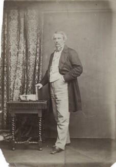 John Laird Mair Lawrence, 1st Baron Lawrence, by John & Charles Watkins, 1860s - NPG x135651 - © National Portrait Gallery, London