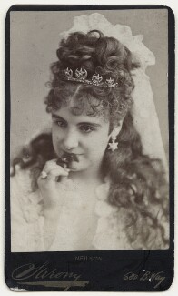Adelaide Neilson as Juliet in 'Romeo & Juliet', by Napoleon Sarony, 1871-1880 - NPG  - © National Portrait Gallery, London