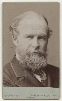 John Lubbock, 1st Baron Avebury, by Francis Henry Hart, for  Elliott & Fry, circa 1890 - NPG x135649 - © National Portrait Gallery, London