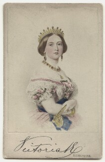 Queen Victoria, by and after Thomas Herbert Maguire - NPG x135655