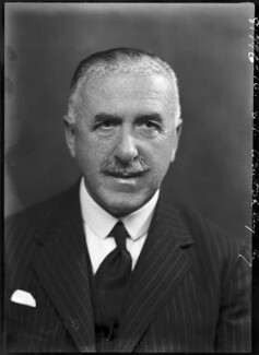 Ernest Tristram Crutchley, by Bassano Ltd - NPG x104362