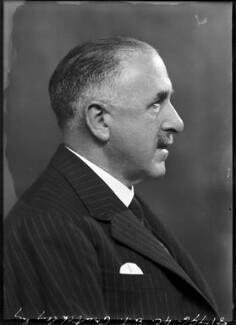Ernest Tristram Crutchley, by Bassano Ltd - NPG x104364
