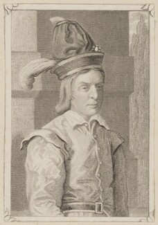 Robert Keeley as Innocent Lambskin in Planche's 'A Woman Never Vext', by Piercy Roberts, published by  George Virtue, after  Thomas Charles Wageman - NPG D38626