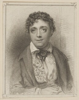 Edward Fitzwilliam as O'Rourke O'Daisy in 'The Travellers', by Thomas Illman, published by  T & I Elvey, after  Thomas Charles Wageman - NPG D38628