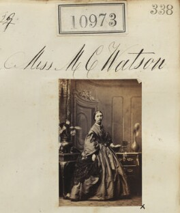 Margaret Catherine Watson, by Camille Silvy - NPG Ax60679