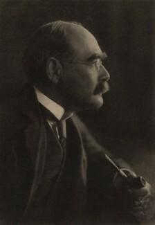 Rudyard Kipling, by E.O. Hoppé - NPG x135706